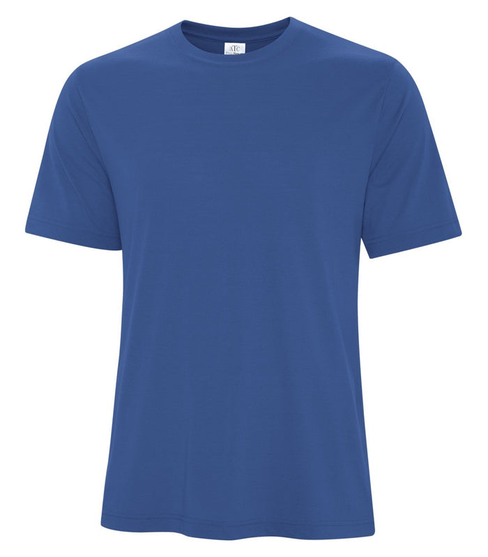 ATC PRO SPUN TEE - ATC3600 - TRUE ROYAL - ENDS MONDAY OVERNIGHT - READY TO SHIP FRIDAY
