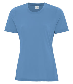 ATC PRO SPUN LADIES TEE - ATC3600L - CAROLINA BLUE - ENDS MONDAY OVERNIGHT - READY TO SHIP FRIDAY