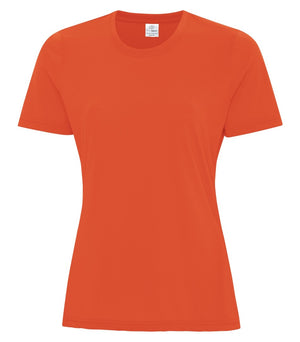 ATC PRO SPUN LADIES TEE - ATC3600L - ORANGE - ENDS MONDAY OVERNIGHT - READY TO SHIP FRIDAY