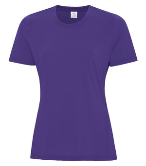 ATC PRO SPUN LADIES TEE - ATC3600L - PURPLE - ENDS MONDAY OVERNIGHT - READY TO SHIP FRIDAY