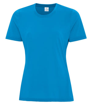 ATC PRO SPUN LADIES TEE - ATC3600L - SAPPHIRE - ENDS MONDAY OVERNIGHT - READY TO SHIP FRIDAY