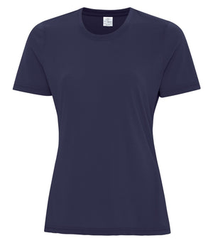 ATC PRO SPUN LADIES TEE - ATC3600L - TRUE NAVY - ENDS MONDAY OVERNIGHT - READY TO SHIP FRIDAY