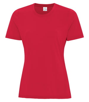 ATC PRO SPUN LADIES TEE - ATC3600L - TRUE RED - ENDS MONDAY OVERNIGHT - READY TO SHIP FRIDAY