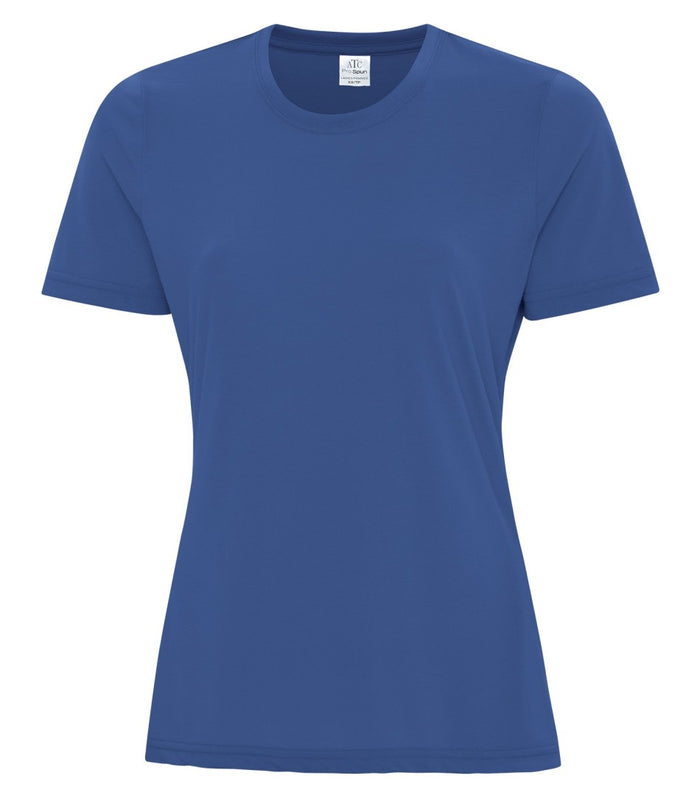 ATC PRO SPUN LADIES TEE - ATC3600L - TRUE ROYAL - ENDS MONDAY OVERNIGHT - READY TO SHIP FRIDAY
