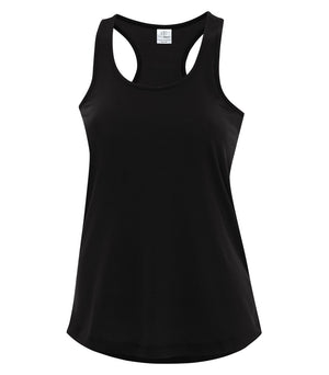 ATC PRO SPUN RACERBACK LADIES' TANK - ATC3604L - BLACK - Ends Monday overnight - Ready To Ship 1 week later