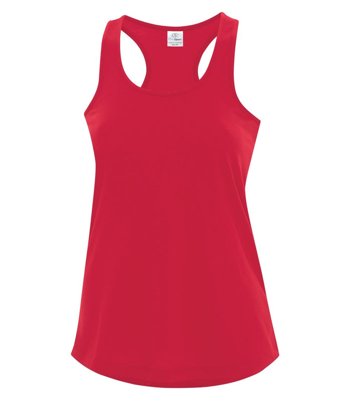 ATC PRO SPUN RACERBACK LADIES' TANK - ATC3604L - TRUE RED - Ends Monday overnight - Ready To Ship 1 week later