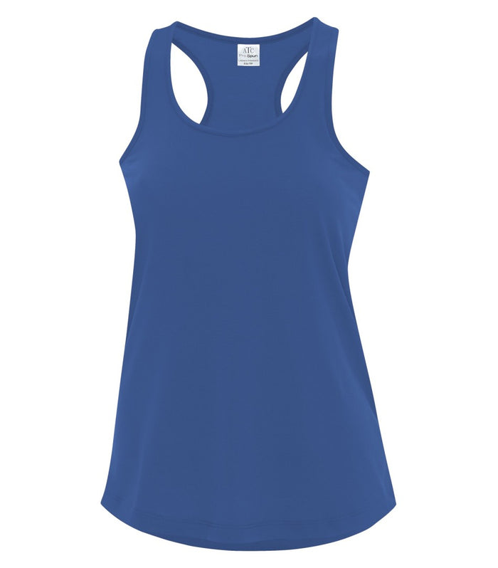 ATC PRO SPUN RACERBACK LADIES' TANK - ATC3604L - TRUE ROYAL - Ends Monday overnight - Ready To Ship 1 week later