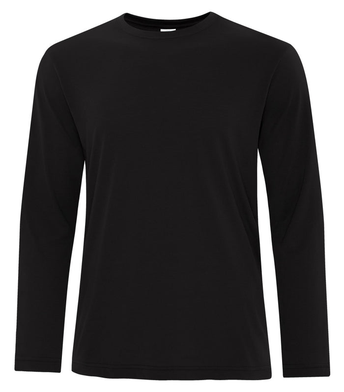 ATC PRO SPUN LONG SLEEVE TEE - ATC3615 - BLACK - ENDS MONDAY OVERNIGHT - READY TO SHIP FRIDAY