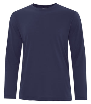 ATC PRO SPUN LONG SLEEVE TEE - ATC3615 - TRUE NAVY - ENDS MONDAY OVERNIGHT - READY TO SHIP FRIDAY