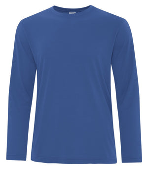 ATC PRO SPUN LONG SLEEVE TEE - ATC3615 - TRUE ROYAL - ENDS MONDAY OVERNIGHT - READY TO SHIP FRIDAY
