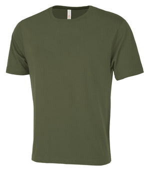 ATC EuroSpun Unisex Tee - ATC8000 - Moss - Ends Monday Overnight - Ready to ship Friday