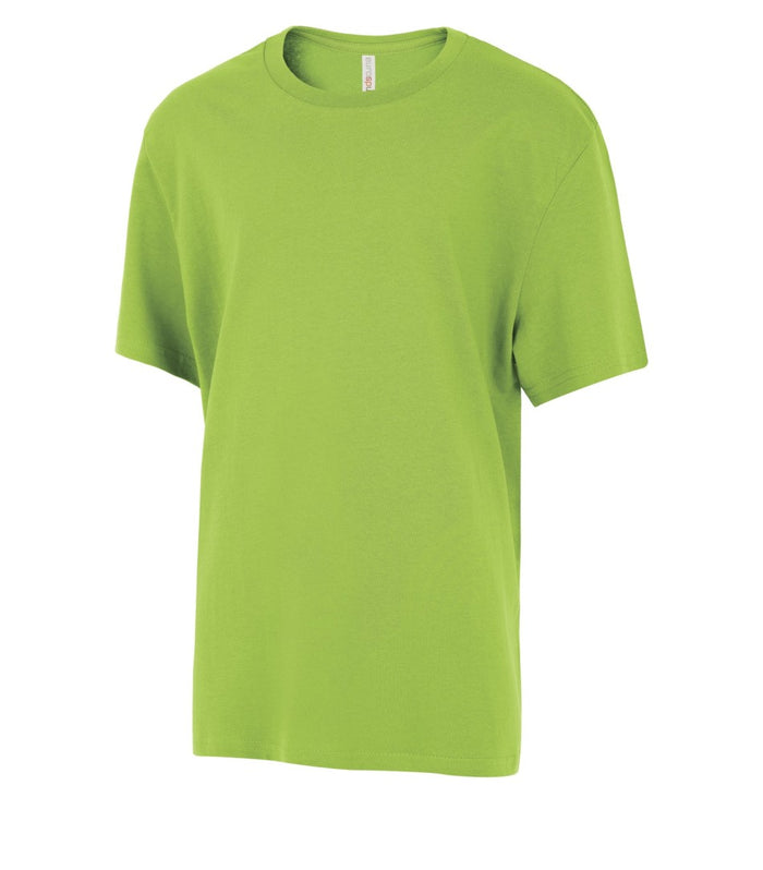 ATC EuroSpun Youth Tee - ATC8000Y - Lime Shock - Ends Monday Overnight - Ready to ship Friday