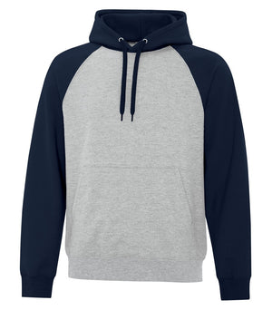 ATC TWO TONE HOODIE ATCF25500 - navy/heather grey - Ends Monday overnight - Ready to Ship Friday