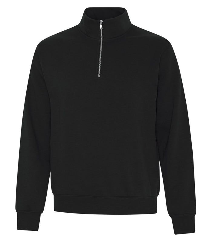 ATC EVERYDAY FLEECE 1/4 ZIP SWEATER - ATCF2700 - Black - Ends Monday overnight - Ready to Ship Friday