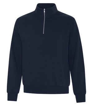 ATC EVERYDAY FLEECE 1/4 ZIP SWEATER - ATCF2700 - Dark Navy - Ends Monday overnight - Ready to Ship Friday