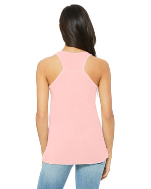 Bella + Canvas Flowy Racerback B8800 - SOFT PINK - ENDS Monday overnight - Ready to ship Friday