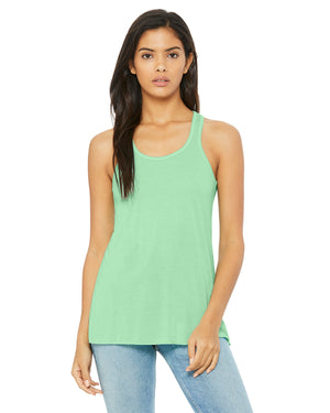 Bella + Canvas Flowy Racerback B8800 - MINT - ENDS Monday overnight - Ready to ship Friday