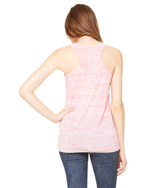 Bella + Canvas Flowy Racerback B8800 - RED MARBLE - ENDS Monday overnight - Ready to ship Friday