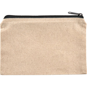Cosmetic bag - 8oz cotton canvas