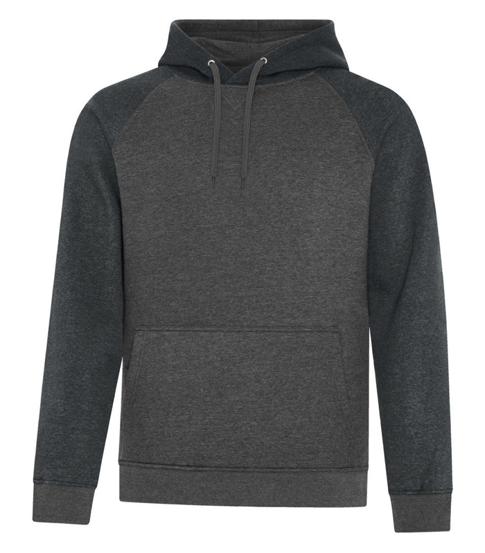 ATC Esactive Vintage Two-Tone Hoodie - F2044 - Black Heather/Charcoal Heather - ends Monday night overnight - ready to ship Friday