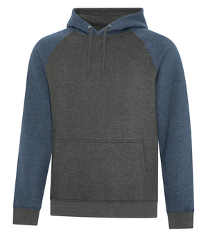 ATC Esactive Vintage Two-Tone Hoodie - F2044 - Navy Heather/Charcoal Heather - ends Monday night overnight - ready to ship Friday