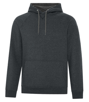 ATC ESACTIVE VINTAGE UNISEX HOODIE - F2045 - BLACK HEATHER - ENDS MONDAY OVERNIGHT - READY TO SHIP FRIDAY