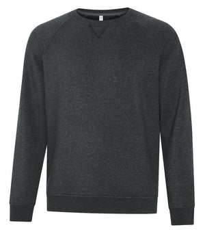 ATC Esactive Vintage Crewneck Sweater - F2046 - Black Heather - ends Monday night overnight - ready to ship Friday