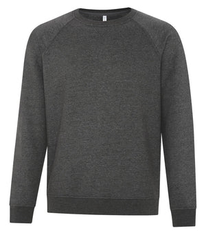 ATC Esactive Vintage Crewneck Sweater - F2046 - Charcoal Heather - ends Monday night overnight - ready to ship Friday