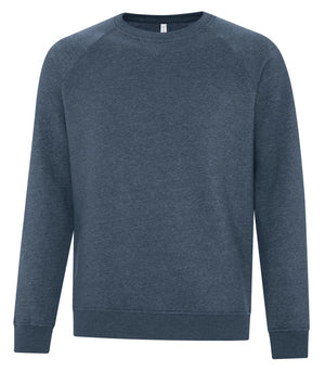 ATC Esactive Vintage Crewneck Sweater - F2046 - Navy Heather - ends Monday night overnight - ready to ship Friday
