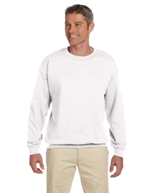 Gildan Crew Sweater - G18000 - WHITE - Ends Monday overnight - Ready to ship Friday