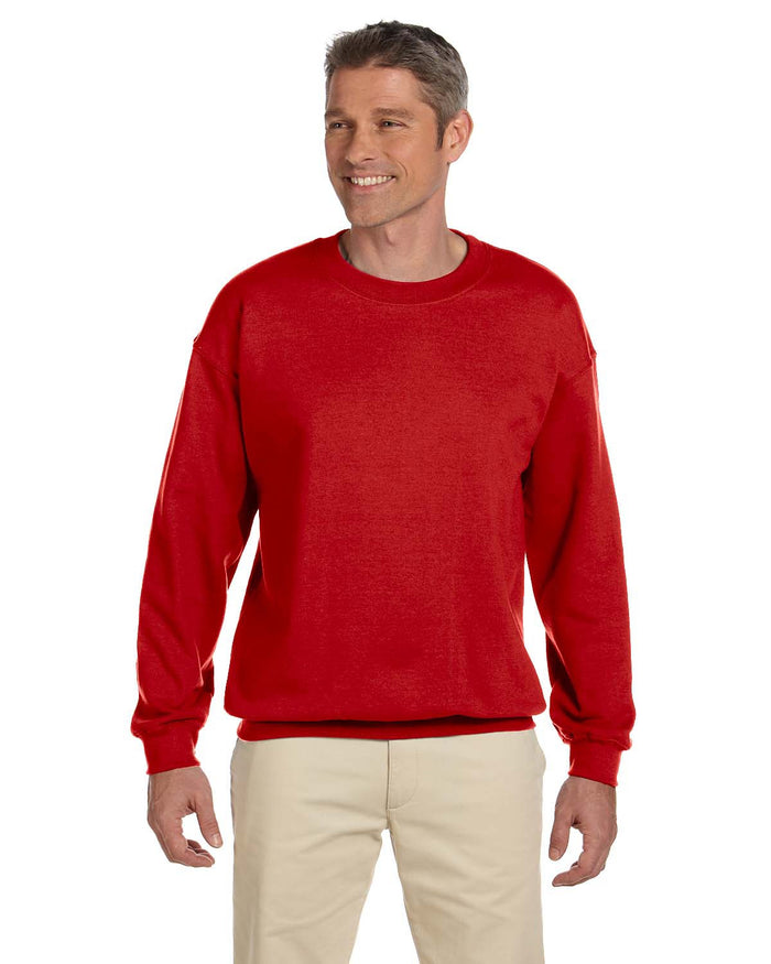 Gildan Crew Sweater - G18000 - RED - ENDS Monday overnight - Ready to ship Friday