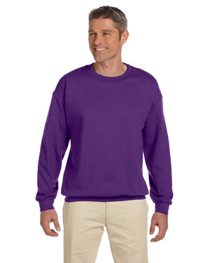 Gildan Crew Sweater - G18000 - PURPLE - ENDS Monday overnight - Ready to ship Friday