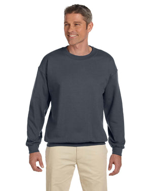 Gildan Crew Sweater - G18000 - DARK HEATHER - ENDS Monday overnight - Ready to ship Friday