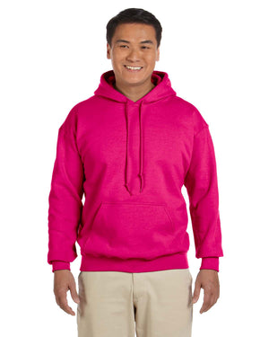 Gildan Hoodie - G18500 - Heliconia - backordered until april