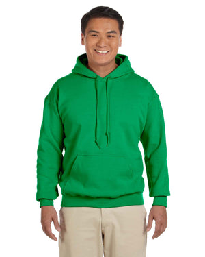 Gildan Hoodie - G18500 - Irish green - Backordered until early Aug - use ATC Kelly as alternate