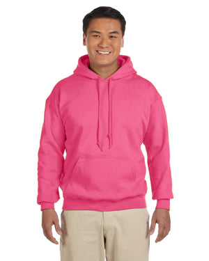 Gildan Hoodie - G18500 - Safety pink - BACKORDERED