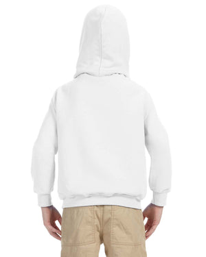 Youth Hoodie - Gildan - G18500B - WHITE - Backordered - use atc youth white instead