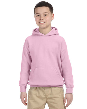 Youth Hoodie - Gildan - G18500B - LIGHT PINK - ENDS Monday night - Ready To Ship Friday