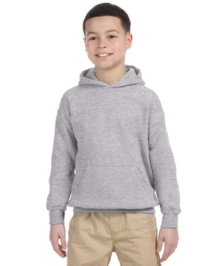 Youth Hoodie - Gildan - G18500B - SPORT GREY - ENDS Monday night - Ready To Ship Friday