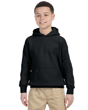Youth Hoodie - Gildan - G18500B - BLACK - ENDS Monday night - Ready To Ship Friday