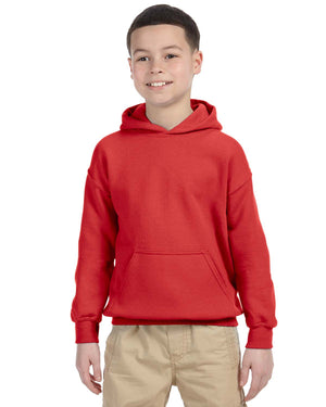 Youth Hoodie - Gildan - G18500B - RED - ENDS Monday night - Ready To Ship Friday