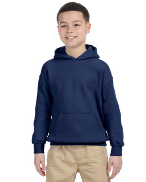 Youth Hoodie - Gildan - G18500B - NAVY - ENDS Monday night - Ready To Ship Friday