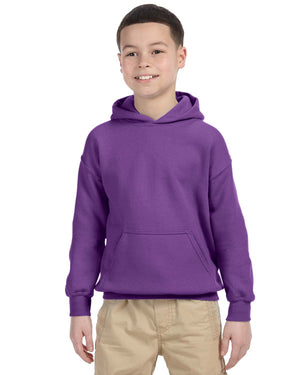 Youth Hoodie - Gildan - G18500B - PURPLE - ENDS Monday night - Ready To Ship Friday
