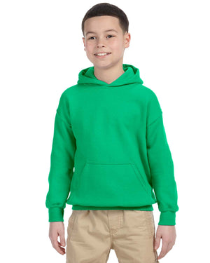 Youth Hoodie - Gildan - G18500B - IRISH GREEN - ENDS Monday night - Ready To Ship Friday