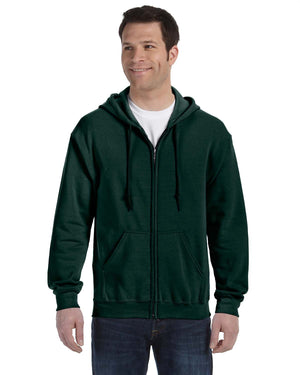 Gildan Hoodie - Full Zip - G18600 - Forest Green - ENDS Monday overnight - Ready to ship Friday