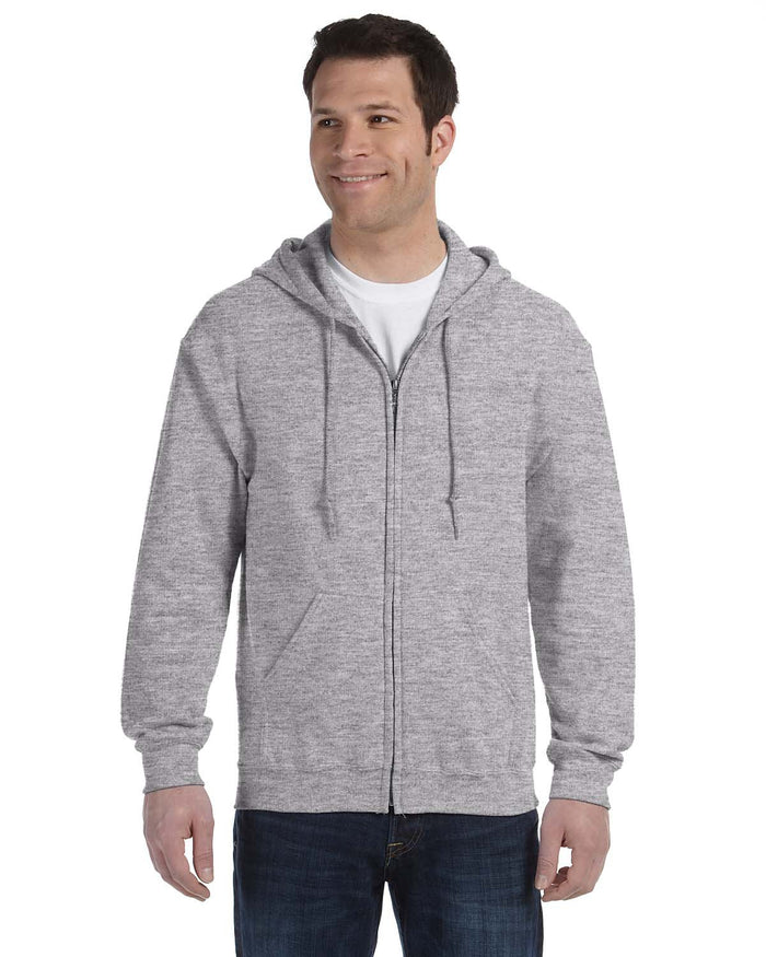 Gildan Hoodie - Full Zip - G18600 - Sport Grey - ENDS Monday overnight - Ready to ship Friday
