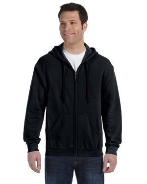 Gildan Hoodie - Full Zip - G18600 - Black - ENDS Monday overnight - Ready to ship Friday
