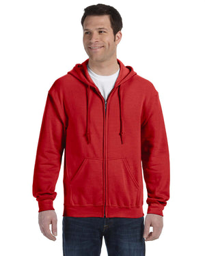 Gildan Hoodie - Full Zip - G18600 - RED - ENDS Monday overnight - Ready to ship Friday