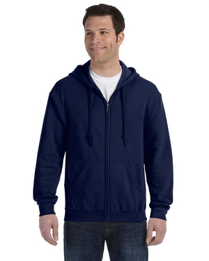 Gildan Hoodie - Full Zip - G18600 - Navy - ENDS Monday overnight - Ready to ship Friday