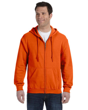 Gildan Hoodie - Full Zip - G18600 - Safety Orange - ENDS Monday overnight - Ready to ship Friday